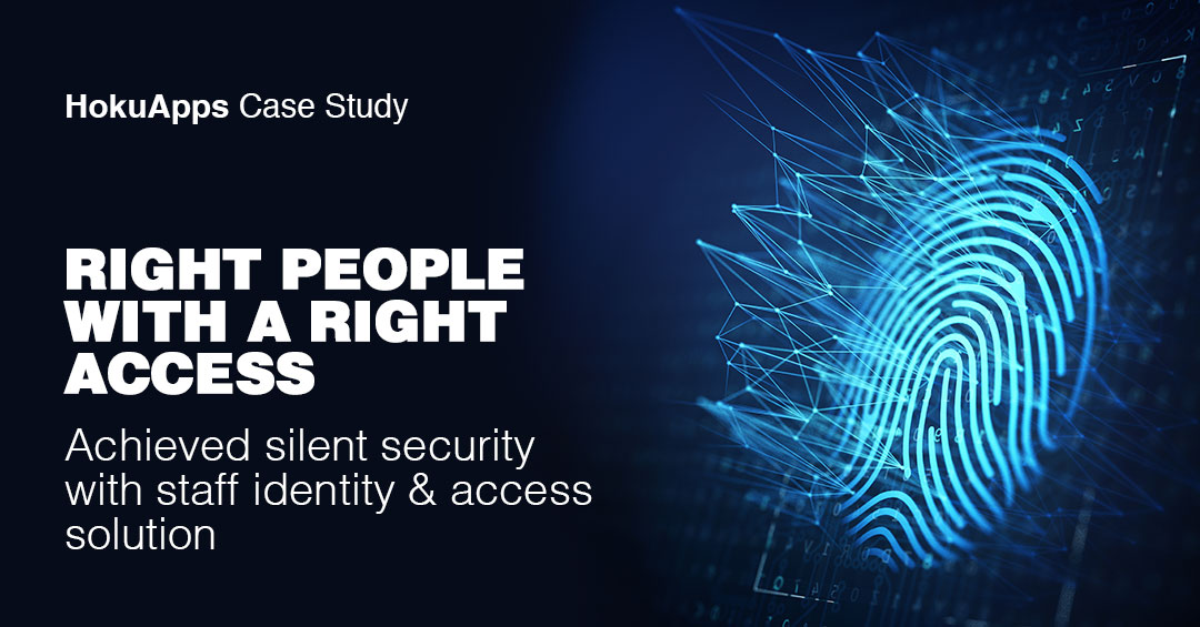 HokuApps developed a custom Biometrics Staff Identification and Management app for Focal Security