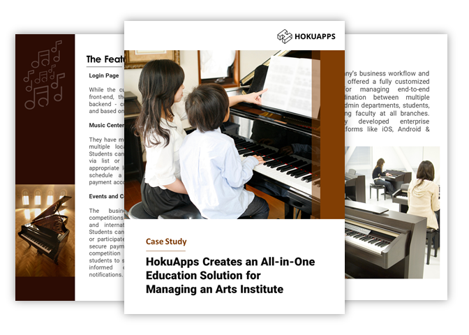 An all-in-one application for Arts Education & Retail helps this business succeed on all fronts