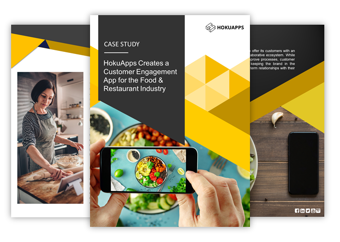 HokuApps Creates a Customer Engagement App for the Food & Restaurant Industry