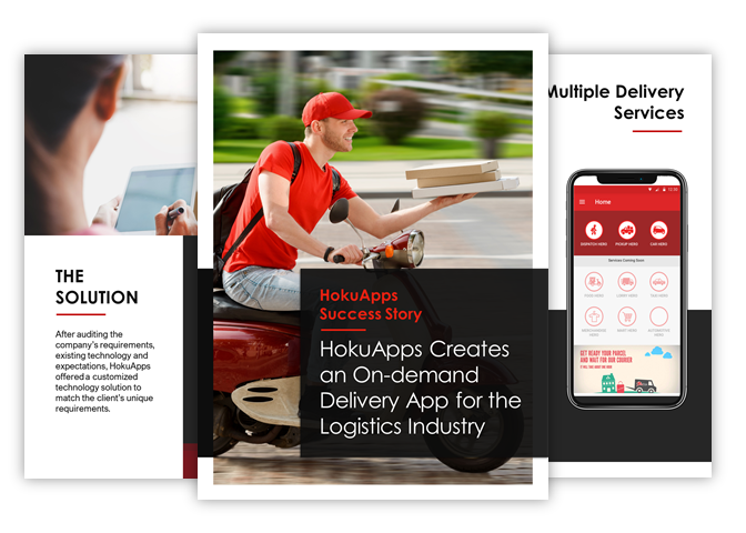 HokuApps creates a mutiple delivery services technology solution for SumHero, Malaysia