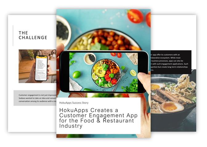 HokuApps creates customer engagement technology for the Food & Restaurant Industry