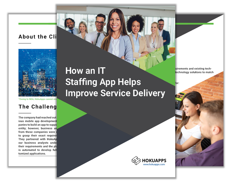 How an IT Staffing App Helps Improve Service Delivery