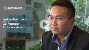 Watch how HokuApps created a unified healthcare technology solution for Embrace Asia