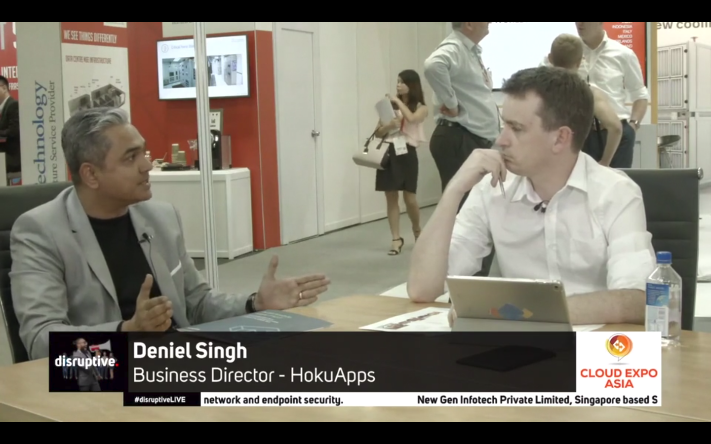 Deniel Singh, Business Director-HokuApps, speaks at Cloud Expo Asia 2018, Singapore