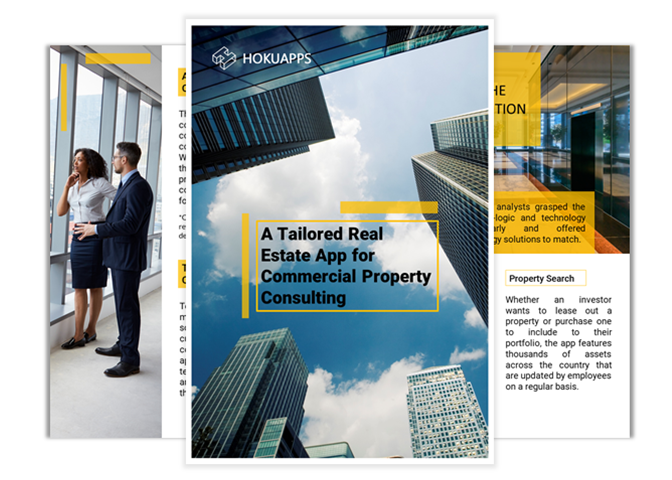 A Tailored Real Estate App for Commercial Property Consulting