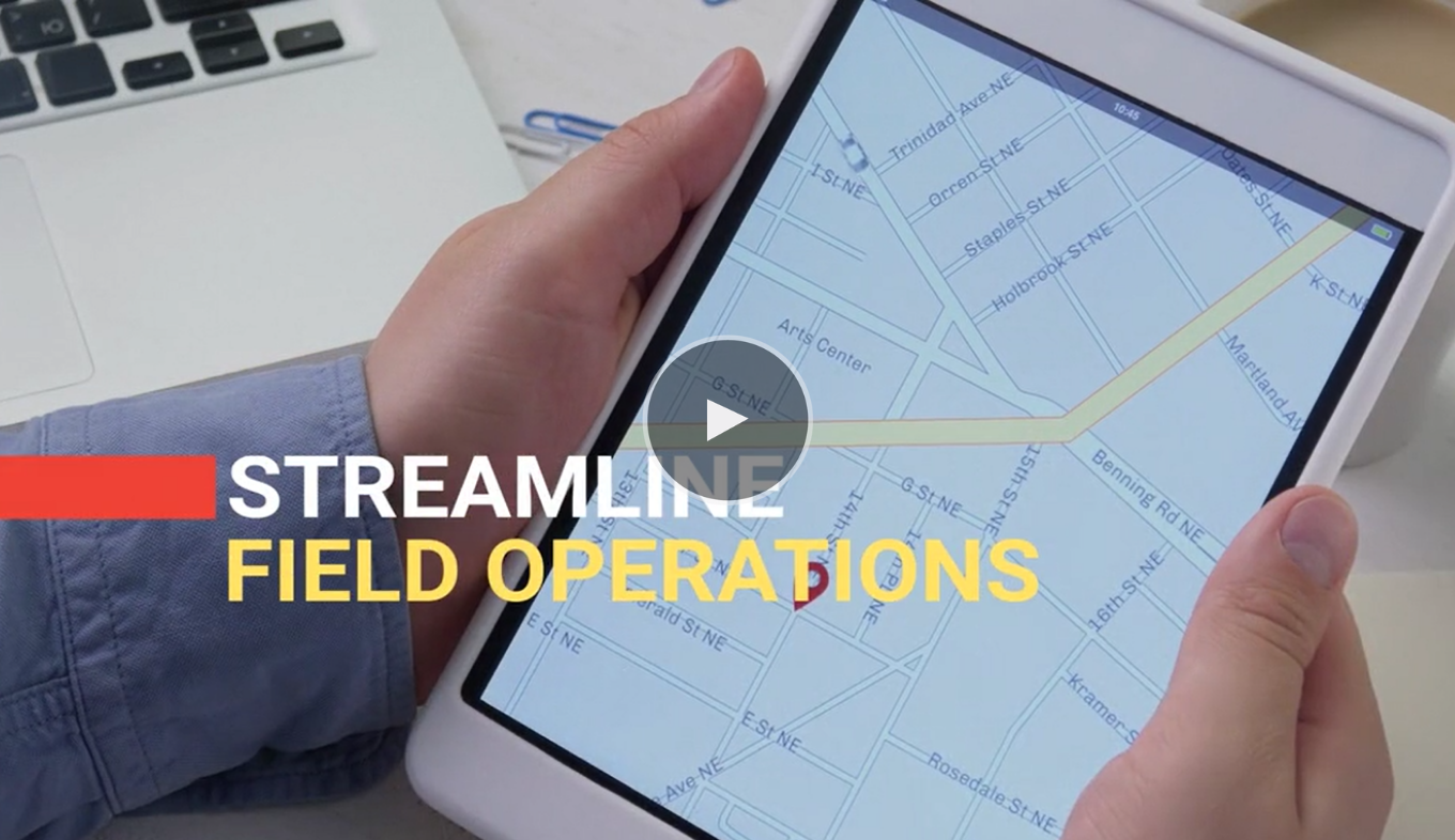 PROACTIVE & CONNECTED FIELD SERVICE MANAGEMENT